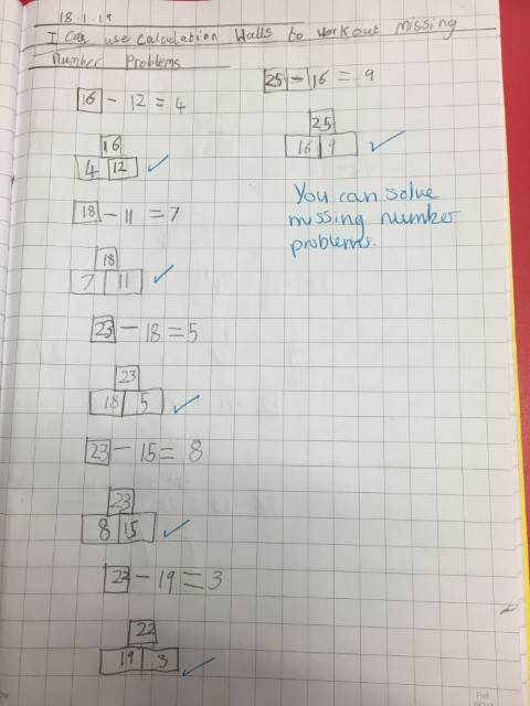 2L pic 4 maths missing number problems